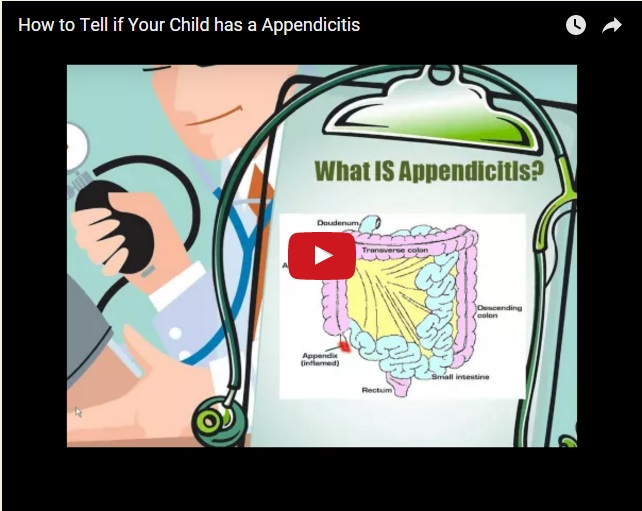 Appendicitis: How to Tell if Your Child has it