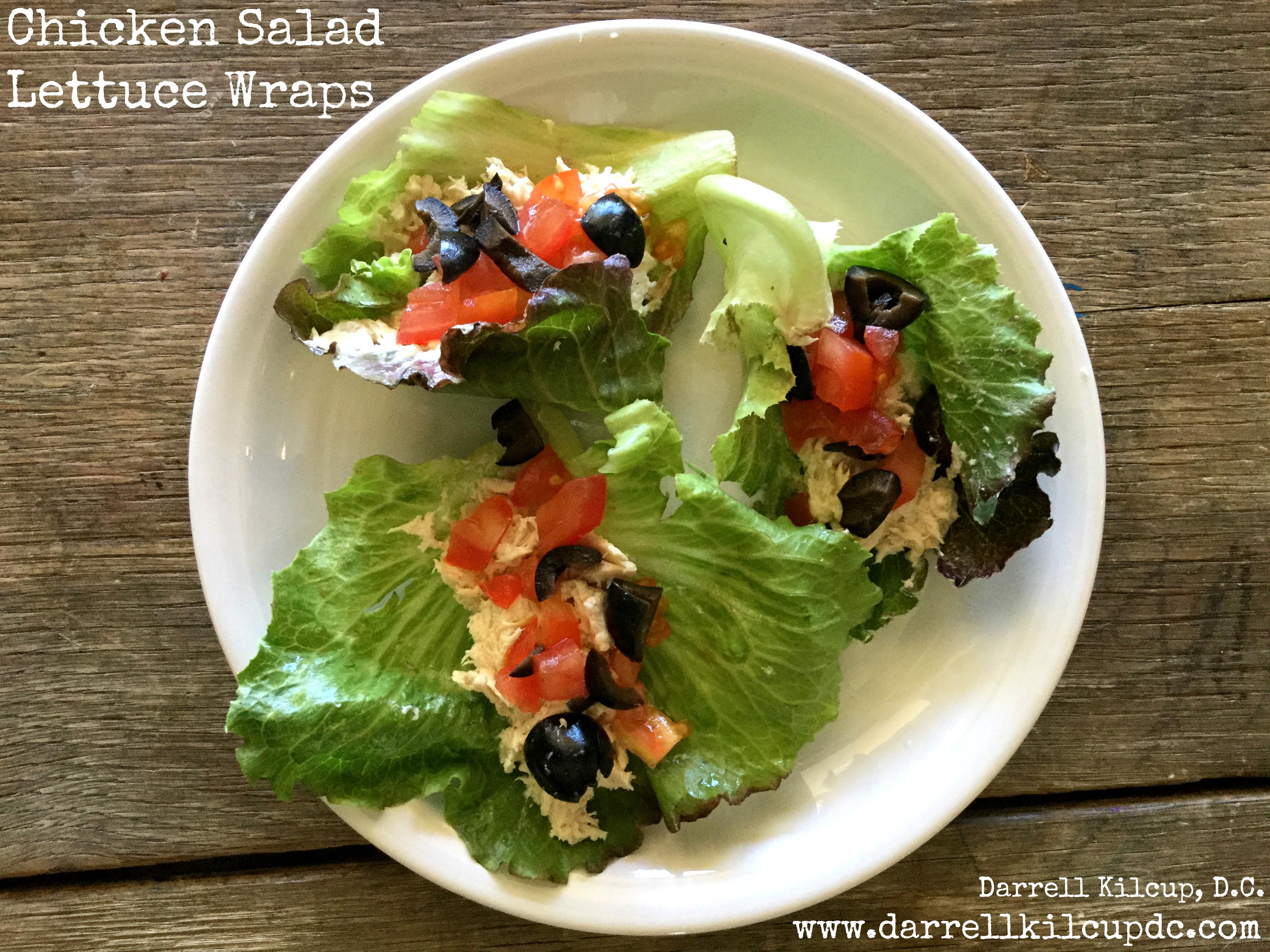 Chicken Salad Lettuce Wraps (Paleo, Gluten-Free, Dairy-Free, Sugar-Free)