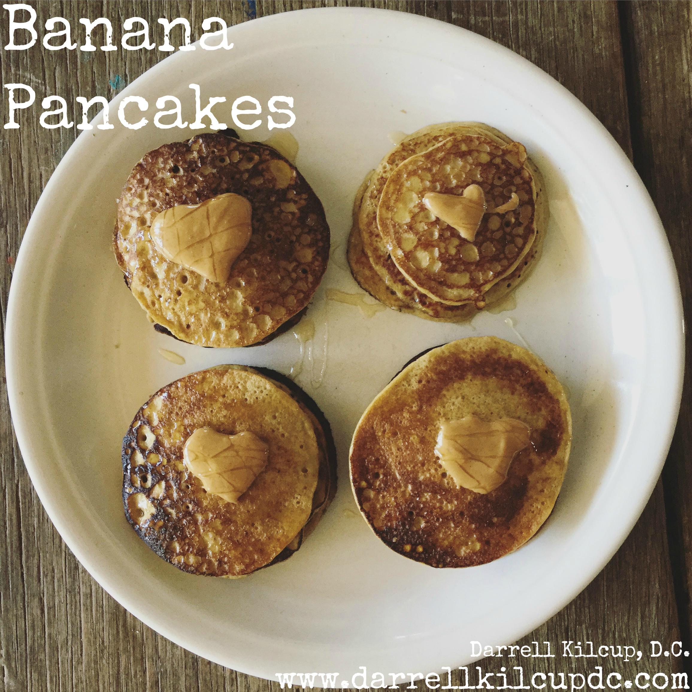 Banana Pancakes | Low Calorie | Paleo | Gluten Free | Dairy Free | Sugar Free
